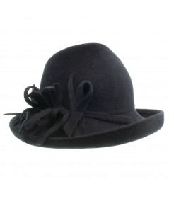 Felt Hat with Trim