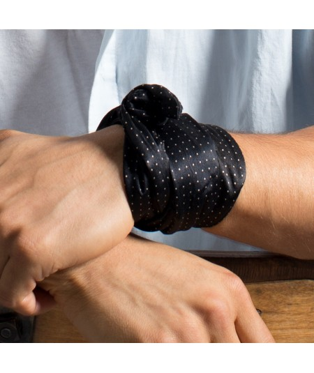 Men's Silk Wristband or Bracelet by Jennifer Ouellette