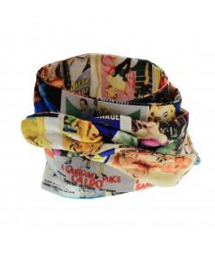 Men's Silk Print Wrist Wrap