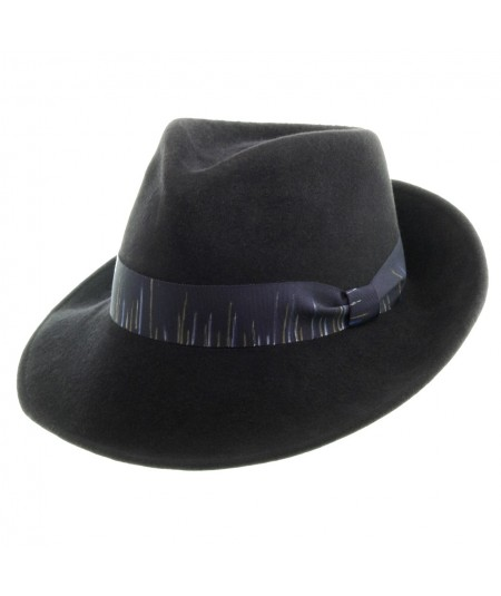 Men's Suede Felt Fedora Hat