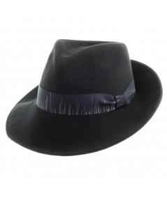 Men's Suede Felt Fedora Hat