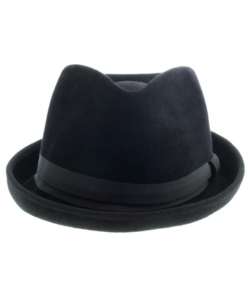 black-mens-luxurious-felt-fedora-with-rolled-brim