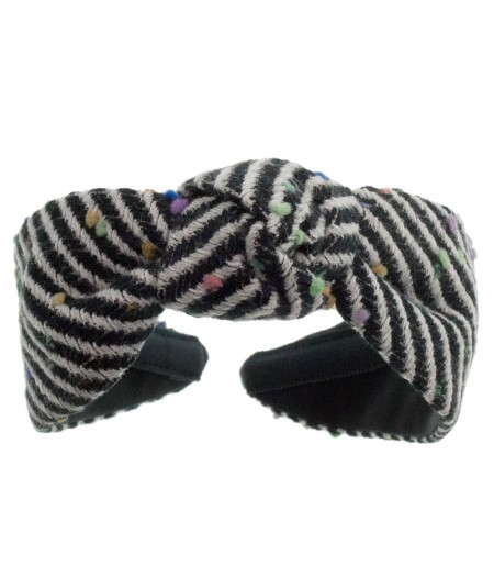 Space Odyssey Wool Center Turban Headband