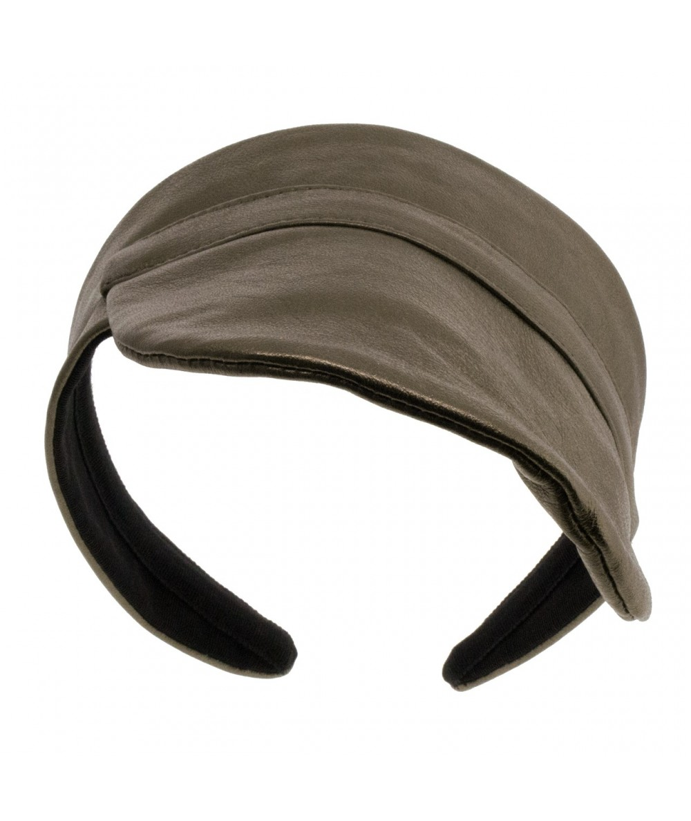 Leather Visor by Jennifer Ouellette
