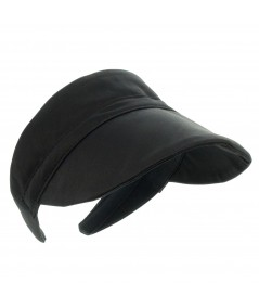 Satin Visor for Sun Protection by Jennifer Ouellette