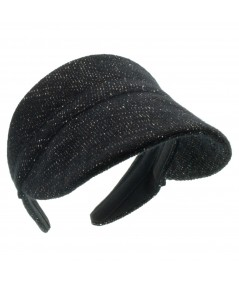 Wool Boucle Tweed Visor