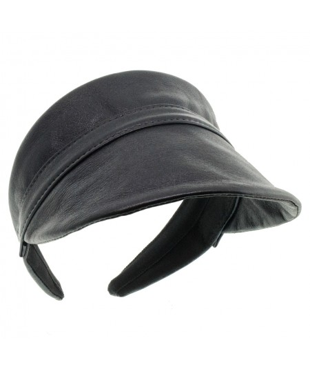 Leather Visor for Sun Protection by Jennifer Ouellette