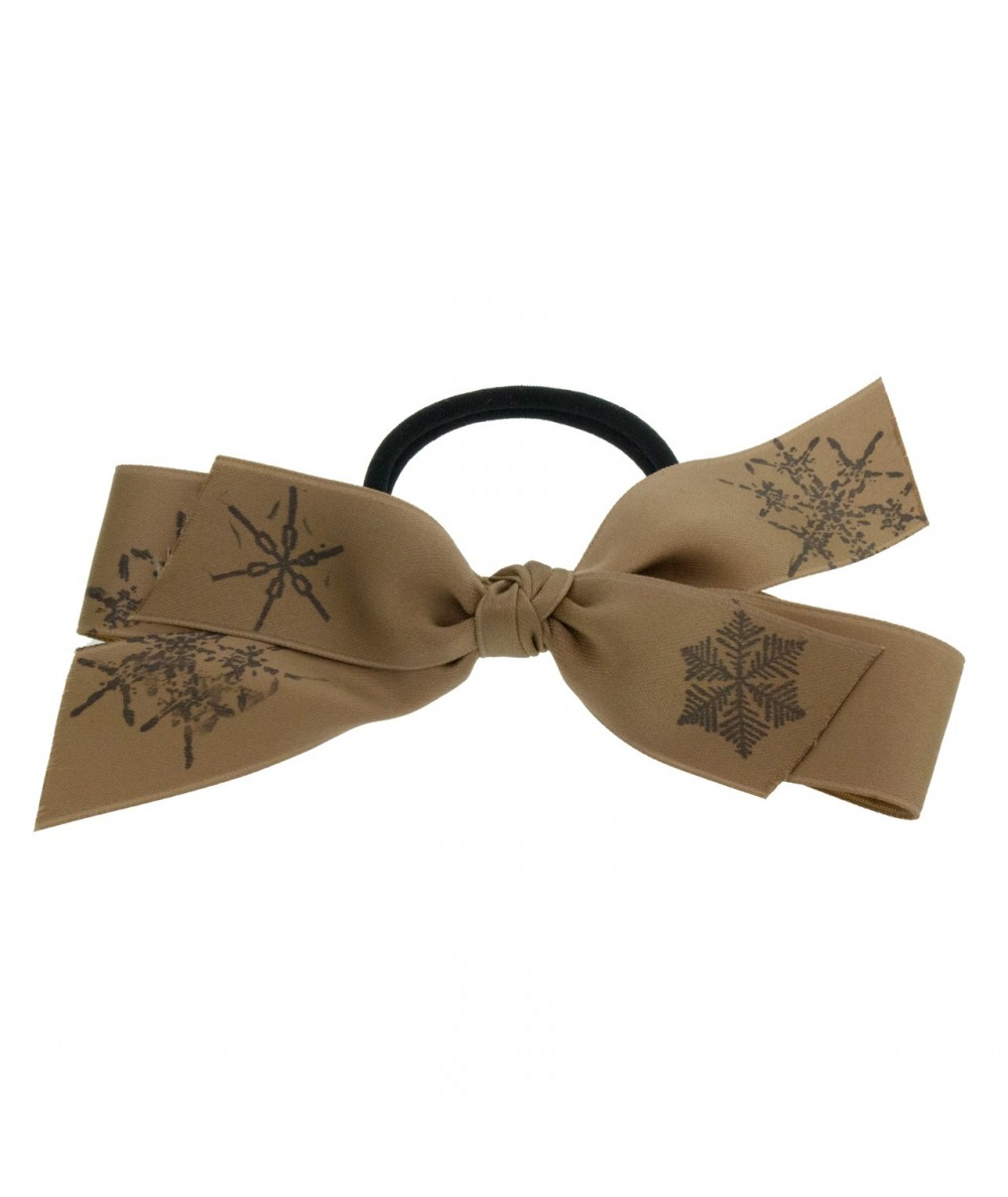 Satin Snowflake Bow Pony