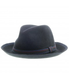 Men's Wide Brim with Stitch