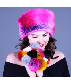 Two-Toned Faux Fur Earmuffs
