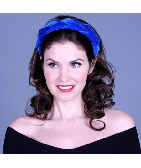 Royal Velvet Braided Ribbon Headband