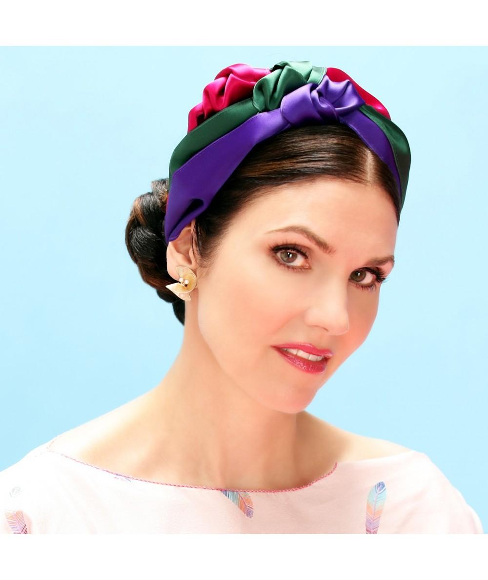 Multi Turban Headband by Jennifer Ouellette