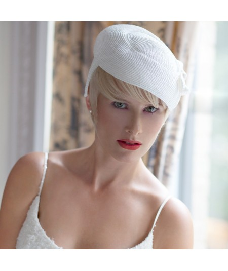 Bridal Beret Fascinator Headpiece