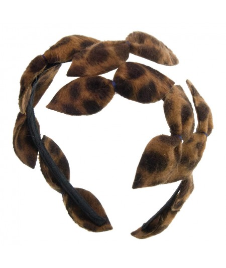 animal-print-felt-bow-tie-headpiece