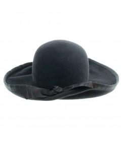 Felt Hat with City Pain Trim