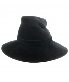 Felt Hat with Pinched Crown