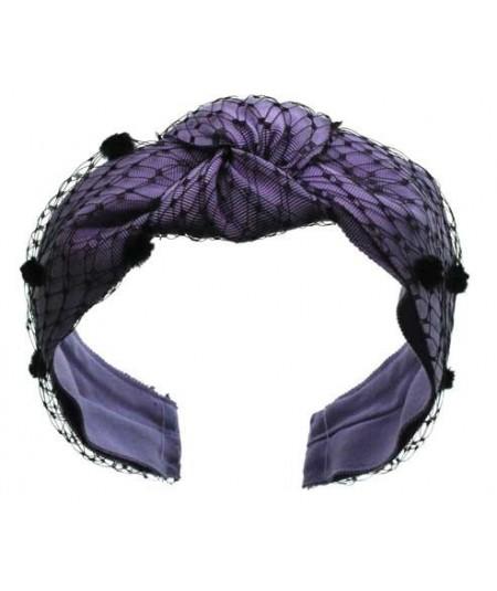 Lilac Bernadette Summer Headband for Women