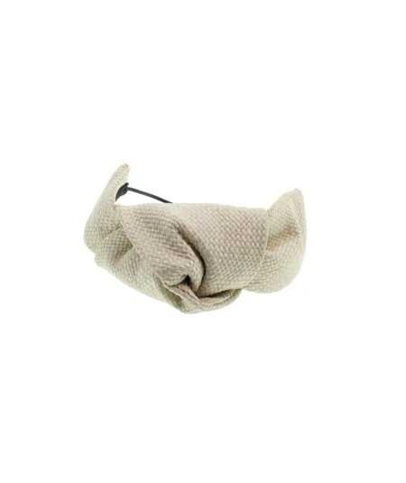 Cream Raffia Bracelet or Ponytail Holder by Jennifer Ouellette