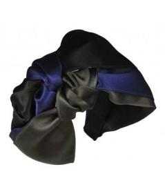 Dark Multi Turban Headband by Jennifer Ouellette