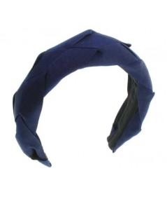 Navy Braid Headband by Jennifer Ouellette