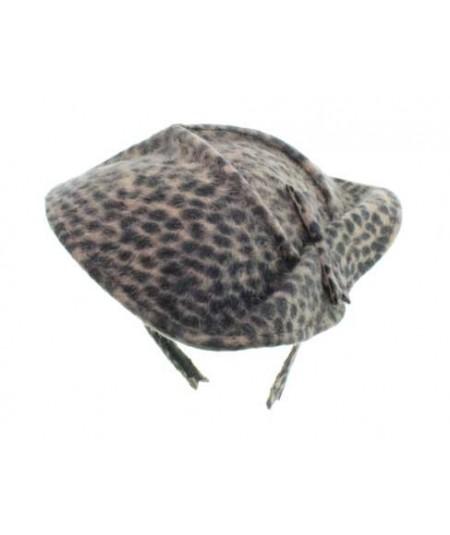 Leopard Fascinator by Jennifer Ouellette