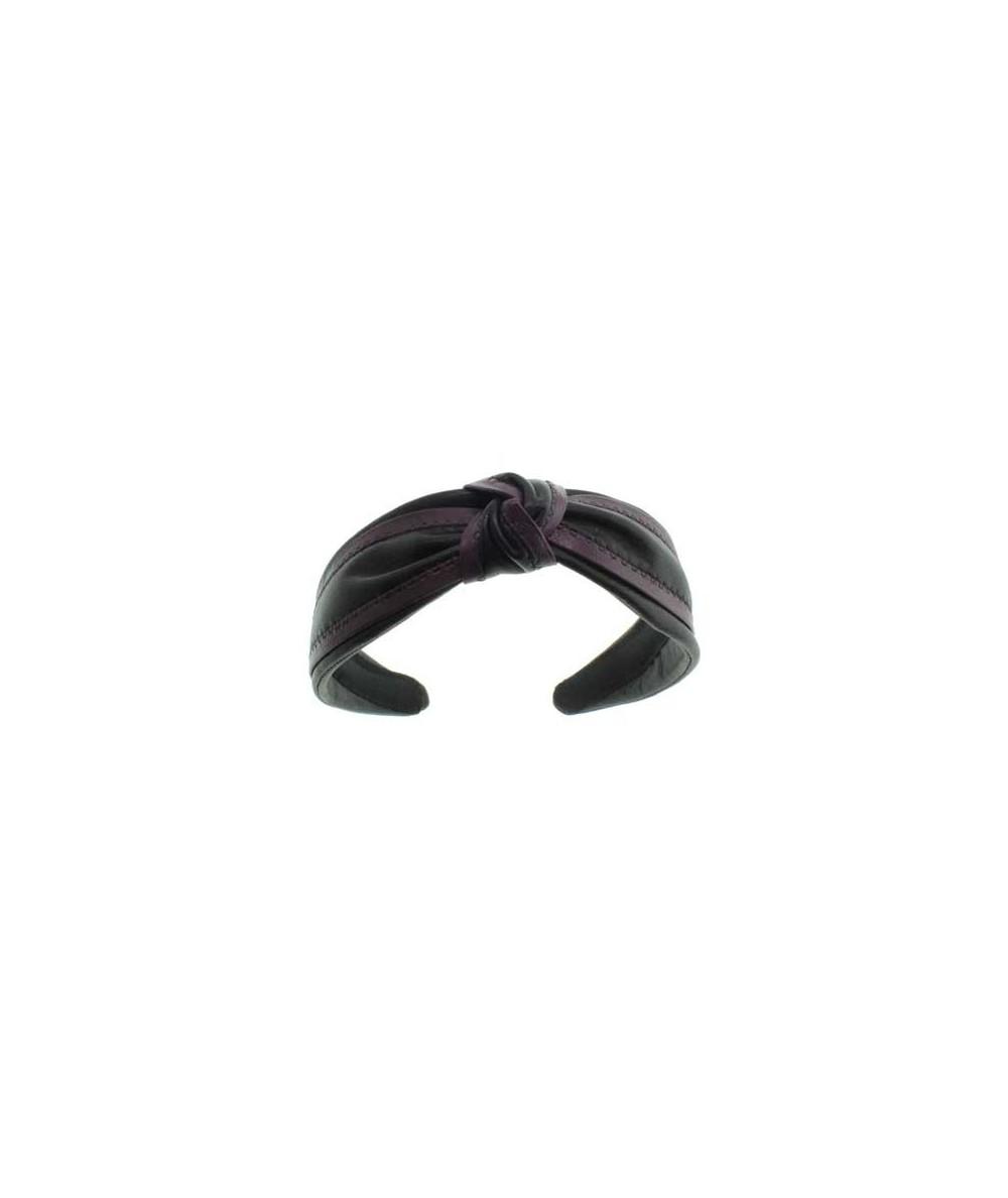 Leather Headband by Jennifer Ouellette
