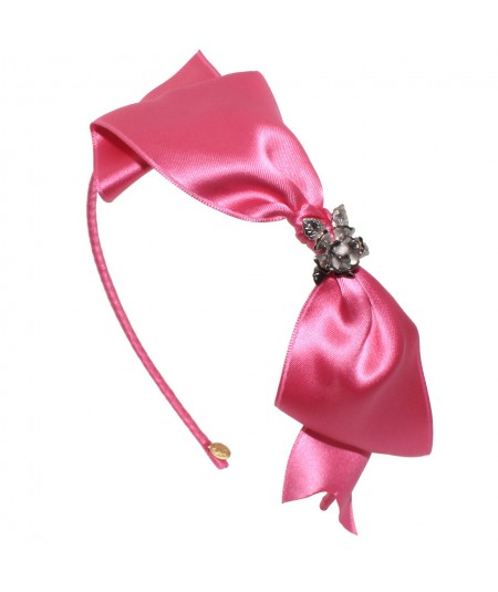 stskr-satin-tie-knot-headband-with-metal-rose-trim