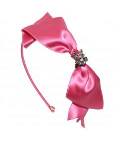stskr-satin-tie-knot-headband-with-metal-rose-trim
