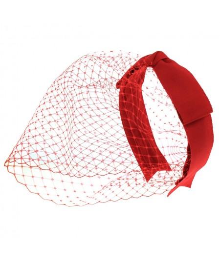 fcr4-bridal-birdcage-veil-fascinator-with-center-bow-detail