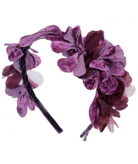 orvv8-draped-organza-and-velvet-flowers-on-skinny-headband