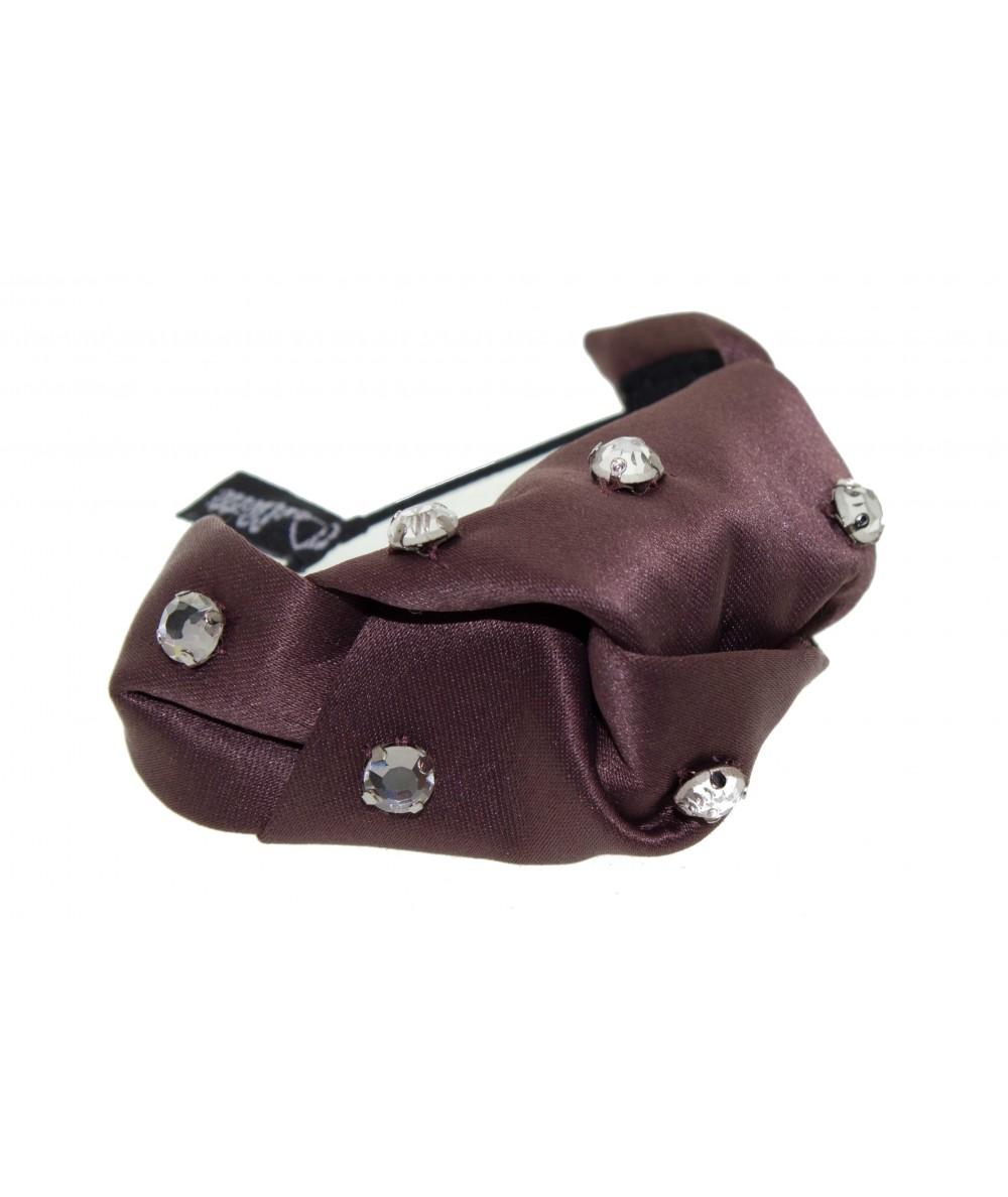 Satin Jeweled Bow or Bracelet Elastic