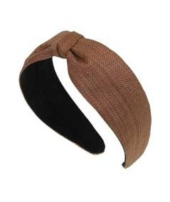 Wheat Italian Raffia Summer Jane Divot Headband