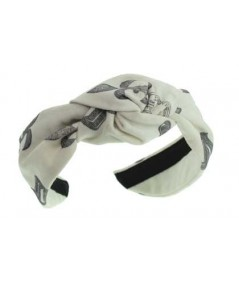 Twill Stamped Blair Turban Headband