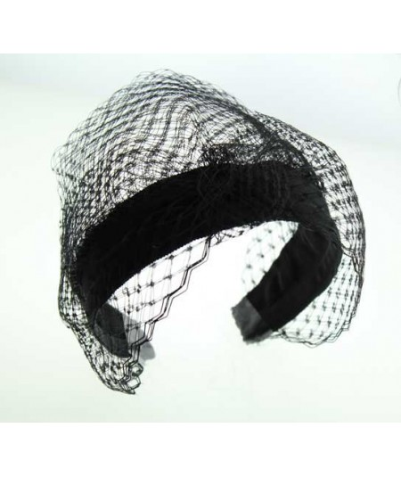 Ceremony Veiling Turban Small Cocktail Hat