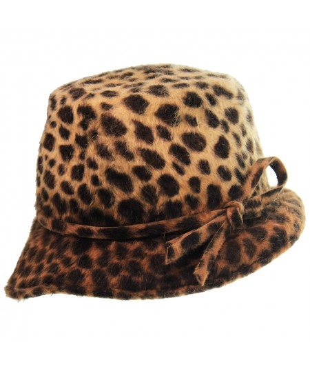 jennifer-ouellette-leopard-felt-stilletto-asymmetrical-small-brim-LeAnn