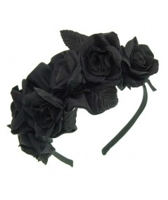 Black Roses Headpiece