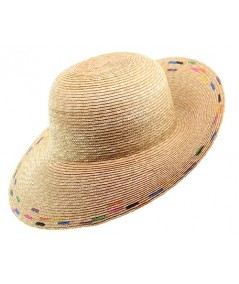 Milan Straw Hand Painted Summer Hat