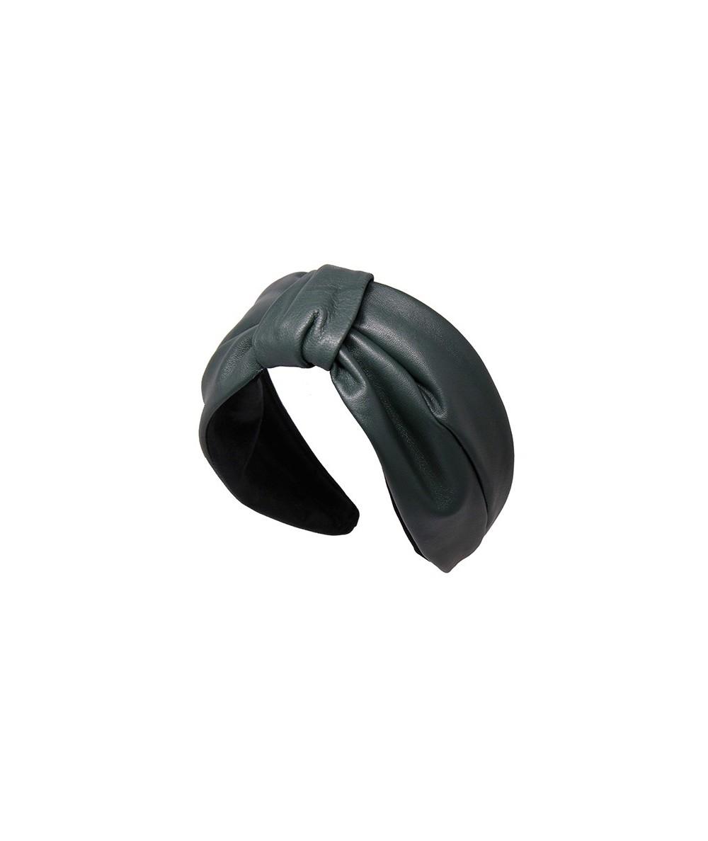 Forest Leather Draper Headband