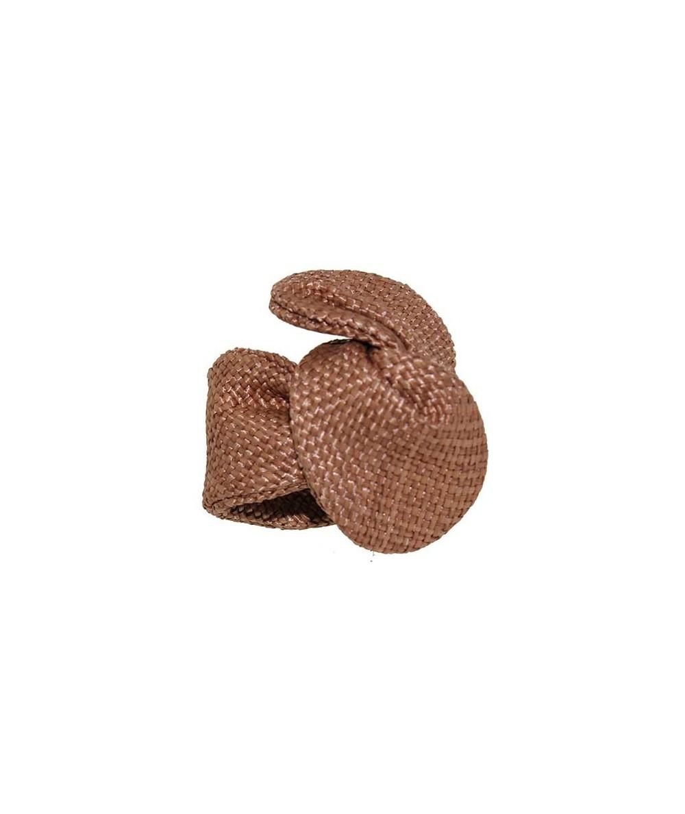 Wheat Raffia Wire Ponytail Holder