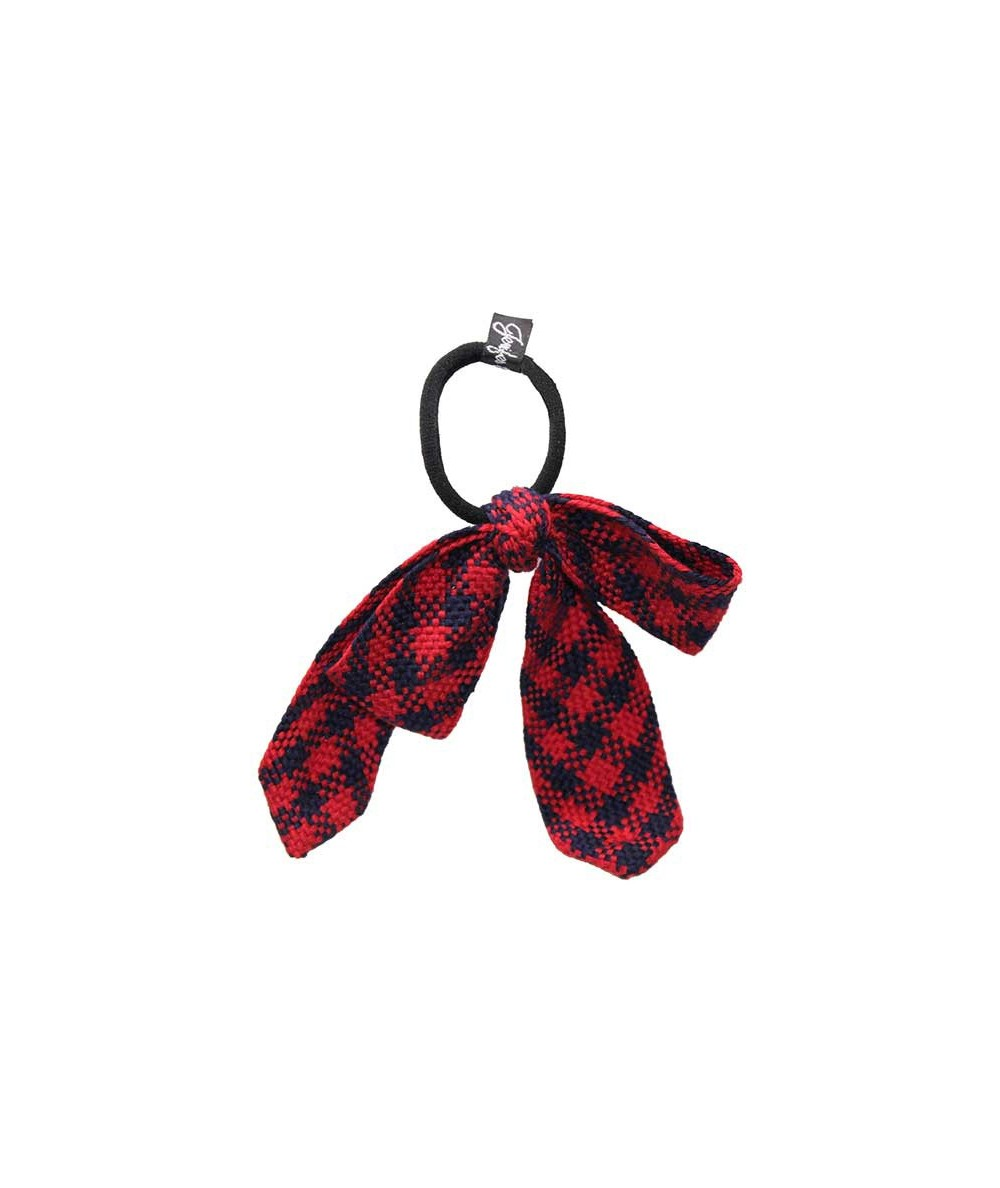 Navy and Red Houndstooth Large Hait Tie