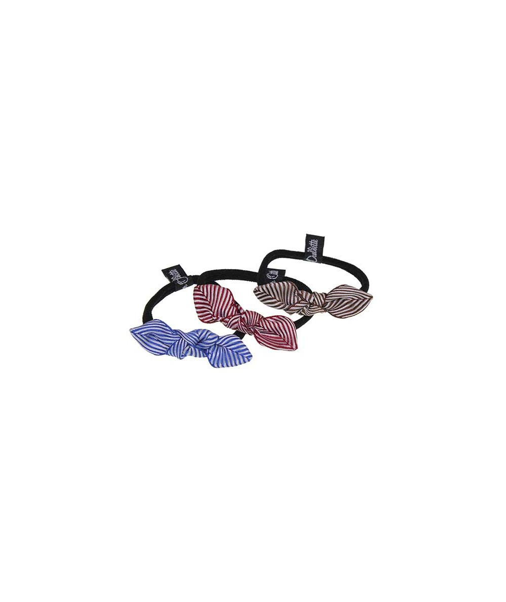 Fishbone Ribbon Small Knot Ponytail