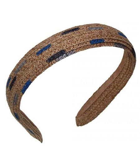 Basic Hand Painted Straw Headband