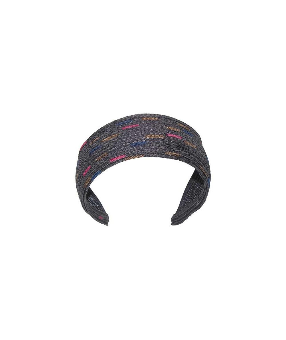 Hand Painted Basic Wide Straw Headband