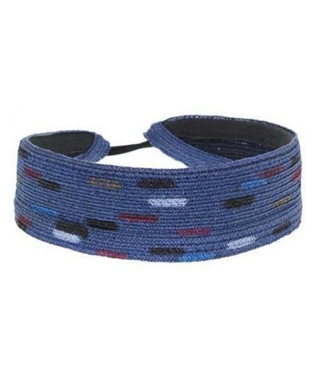 Hand Painted Basic Straw Tie Back Elastic Headband