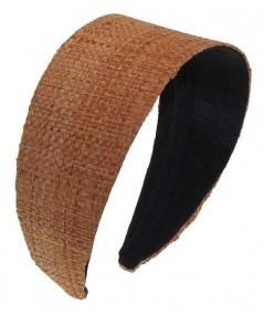 Raffia Extra Wide Basic Headband