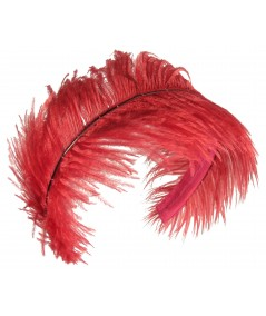 Jennifer Ouellette Red Feather Headband