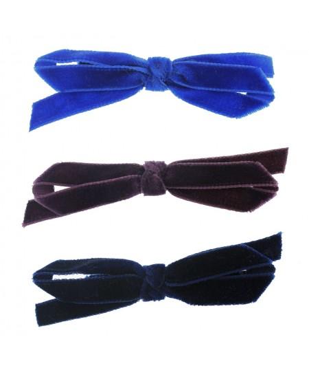 lpw11-velvet-bow-trimmed-on-long-bobby-pin
