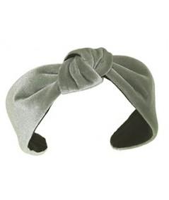 Celedon Velvet Harlow Turban Headband