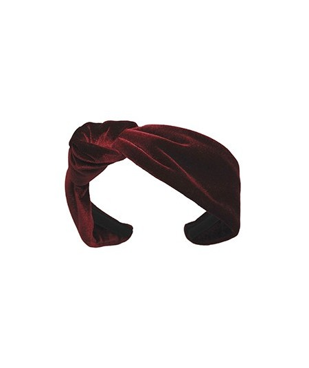 Velvet Side Turban Headband