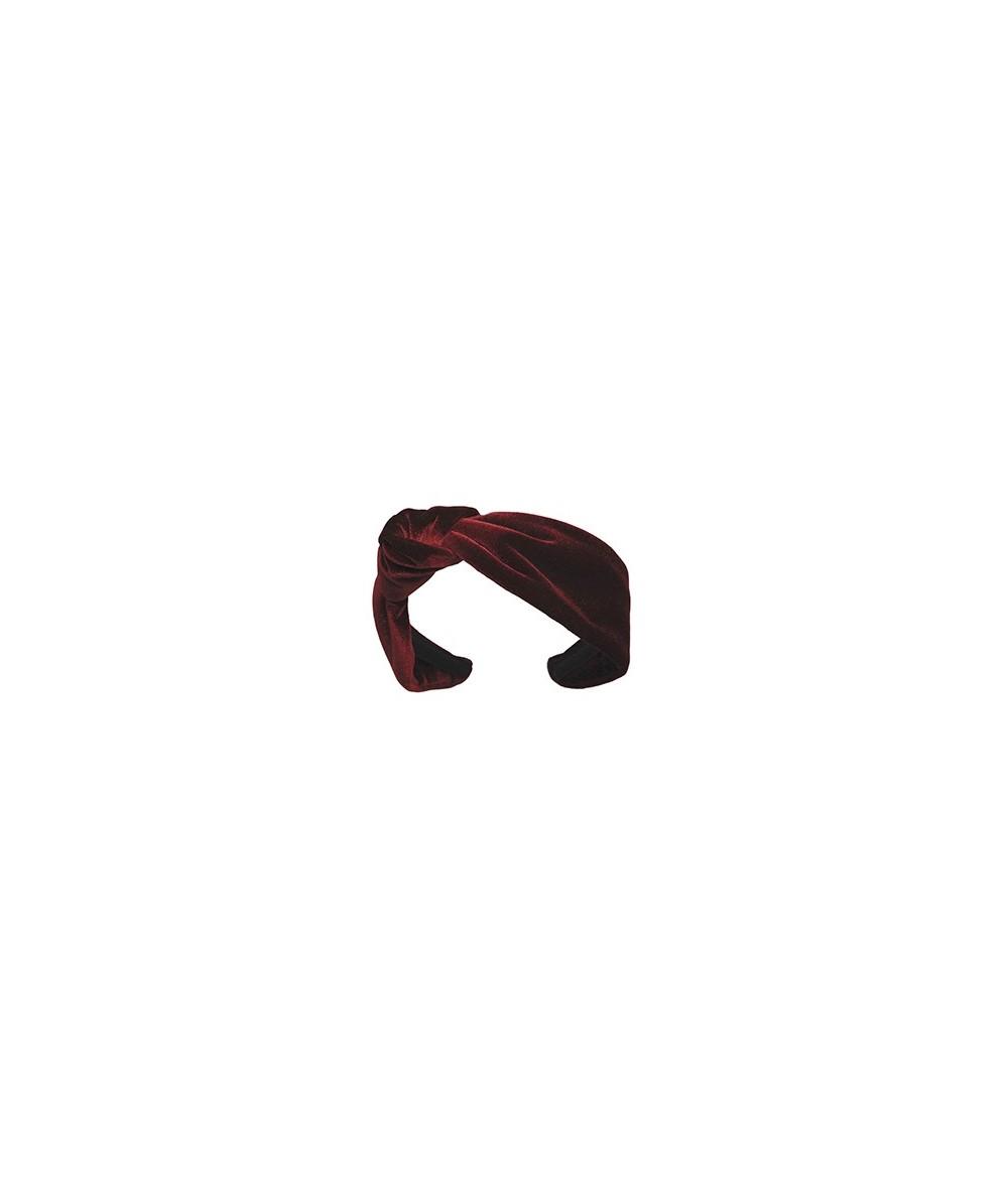 Velvet Side Turban Headband